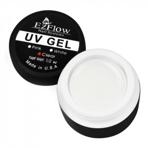 Gel UV EzFlow 15 gr Alb - White French