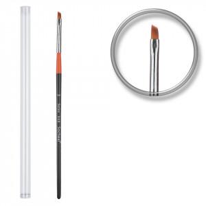 Pensula unghii aplicare gel nr.3 cu etui tubular - Orange Tulip