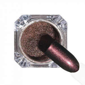 Pigment unghii Chrome #159 cu aplicator - LUXORISE