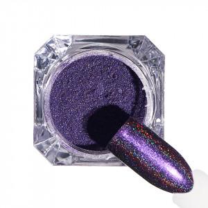 Pigment unghii Holografic #72 cu aplicator - LUXORISE