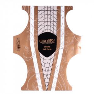 Sabloane Constructie Unghii LUXORISE Clasic Stiletto, 50 buc