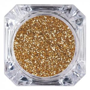 Sclipici Glitter Unghii Pulbere LUXORISE, Hot Sand #62