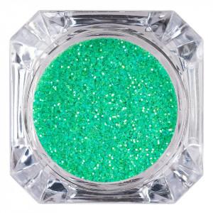 Sclipici Glitter Unghii Pulbere LUXORISE, Verde Aprins #34