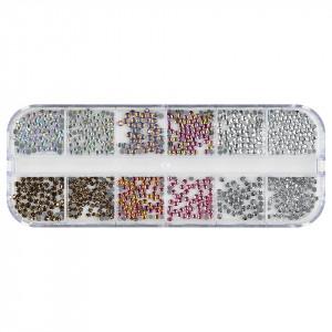 Strasuri Unghii LUXORISE, Paradise Crystals, 12 modele
