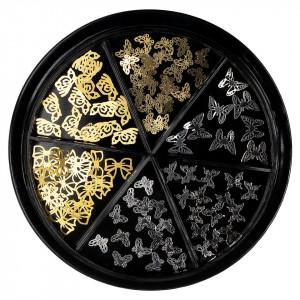 Strasuri Unghii LUXORISE, Precious Butterfly - 6 modele