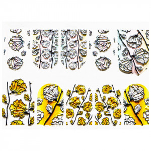 Tatuaj 3D Unghii LUXORISE Artistry LX066