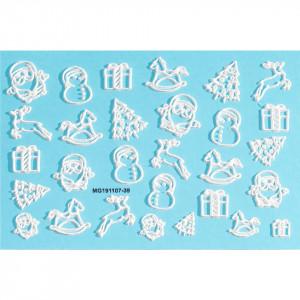 Tatuaj 3D Unghii LUXORISE Winter MG191107-39