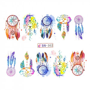 Tatuaj unghii LUXORISE, Dream Catcher BN-302