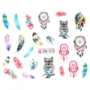 Tatuaj unghii LUXORISE, Dream Catcher BN-903