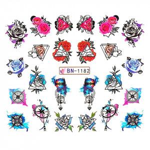 Tatuaj unghii LUXORISE, Fantasy BN-1182