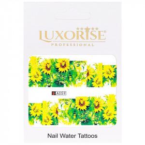 Tatuaj unghii LUXORISE, Nature A059