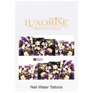 Tatuaj unghii LUXORISE, Nature A067
