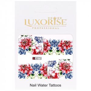 Tatuaj unghii LUXORISE, Nature A073