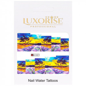 Tatuaj unghii LUXORISE, Nature A1021
