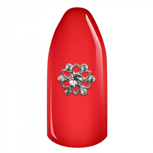 Decoratiune Unghii 3D - Floare din strasuri 02