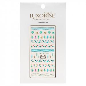 Folie Sticker 3D unghii LUXORISE- SP196