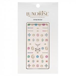 Folie Sticker 3D unghii LUXORISE- SP209
