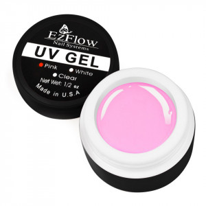 Gel UV EzFlow 15 gr Pink - Roz Transparent