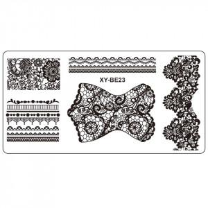 Matrita Metalica Stampila Unghii XY-BE23 - Mandala
