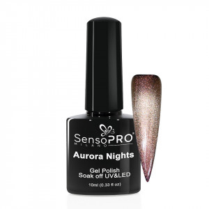Oja Semipermanenta Aurora Nights SensoPRO 10ml - 10 Dazzling View