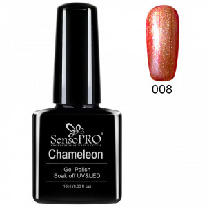 Oja Semipermanenta Cameleon SensoPro 10ml - #008 ChocolateStory
