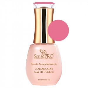 Oja Semipermanenta SensoPRO 15ml culoare Roz - 025 Pink Topping