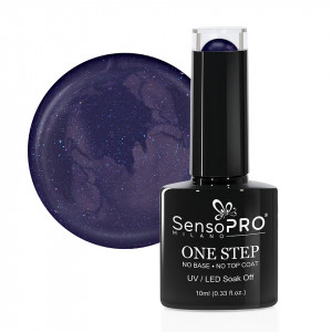 Oja Semipermanenta SensoPRO Milano One Step 10ml, Eternity Purple #043