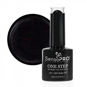 Oja Semipermanenta SensoPRO Milano One Step 10ml, Mysterious Black #044