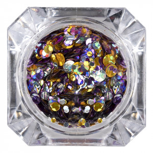 Paiete Unghii 026 Metallic Glam - LUXORISE