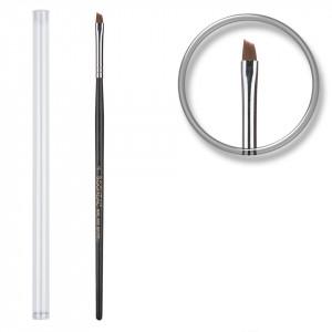 Pensula unghii profesionala aplicare gel Nr. 4 - Rusty Black