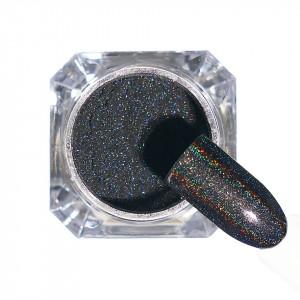 Pigment unghii Holografic #117 cu aplicator - LUXORISE