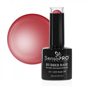 Rubber Base Gel SensoPRO Milano 10ml, #42 Burgundy Style