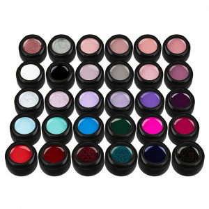 Set 30 Geluri UV Colorate Most Wanted Collection, SensoPRO Milano