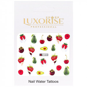Tatuaj unghii LUXORISE, Fruits A1403