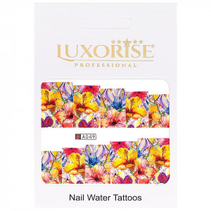 Tatuaj unghii LUXORISE, Nature A049