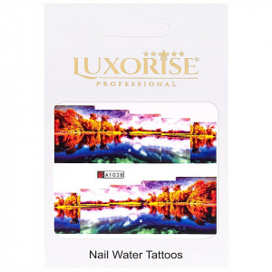 Tatuaj unghii LUXORISE, Nature A1028