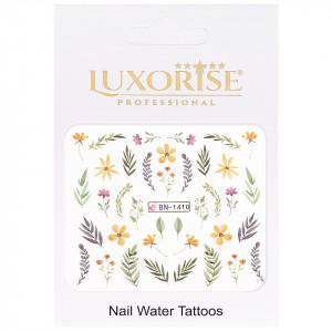 Tatuaj unghii LUXORISE, Nature BN-1410