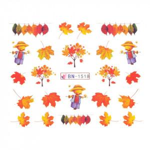 Tatuaj unghii SensoPRO Autumn Challenge, model BN-1518