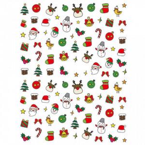 Abtibild unghii SD-008 Jingle Bells