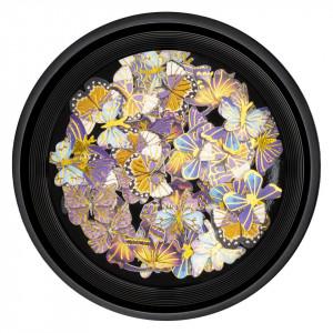 Decoratiuni Unghii Nail Art LUXORISE, Butterfly Sunset