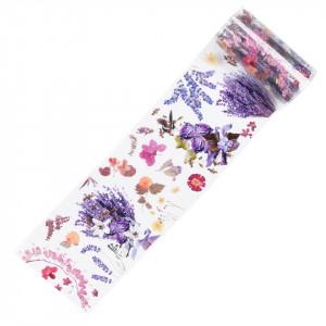 Folie de Transfer Unghii LUXORISE #369 Flower Mania
