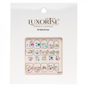 Folie Sticker 3D unghii LUXORISE- SP077