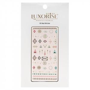 Folie Sticker 3D unghii LUXORISE- SP202