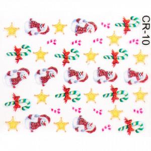 Folie Sticker 3D unghii, model CR-10