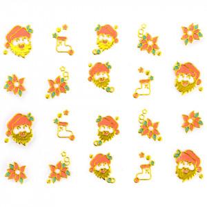 Folie Sticker 3D unghii, model xj017