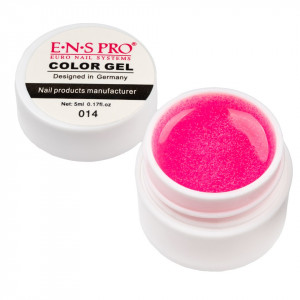 Gel UV Color cu Sclipici ENS PRO #014 - Luscious Candy
