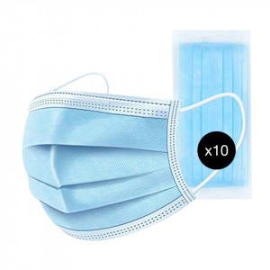 Masca Protectie Tehnician Unghii, set 10 bucati