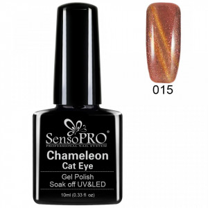 Oja Semipermanenta Cameleon Cat Eye SensoPro 10ml - #015 TheBronx
