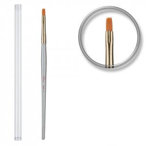 Pensula unghii aplicare gel UV nr.6 cu etui tubular - Incredible Brush