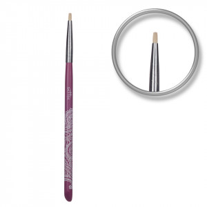 Pensula unghii aplicare glitter si pigmenti Mineral Lace